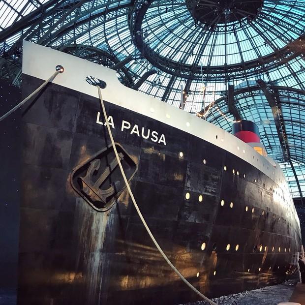As instalações do Cruise Collection (Foto: Laura Ancona)