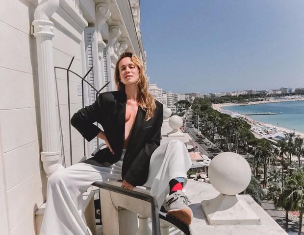 Mariana Ximenez em pose à la Sarandon (Foto: Divulgação)