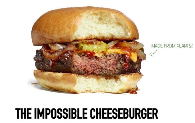Impossible burguer: o hambúrguer de carne criado em laboratório (Foto: divulgação)