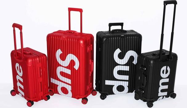 As malas da colab custam US$1.800 (para despachar) e US$1.600 (de mão) (Foto: Divulgação)