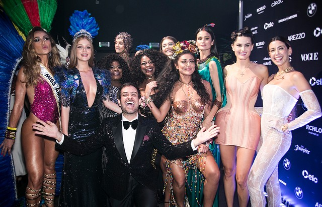 Musas, rainhas e apresentadoras do Baile da Vogue (Foto: Ale Virgílio, Lu Prezia e Ricardo Toscani )