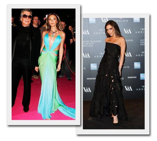 A evolução de estilo de Victoria Beckham (Foto: Reprodução/Getty)