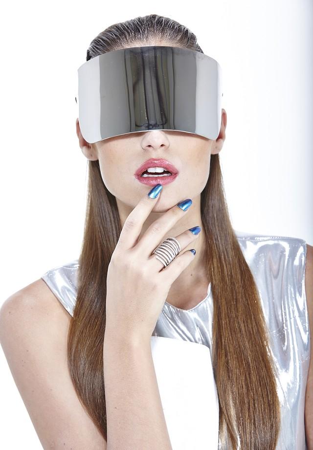 Cabelo do futuro (Foto: Renam Christofoletti / Arquivo Vogue)