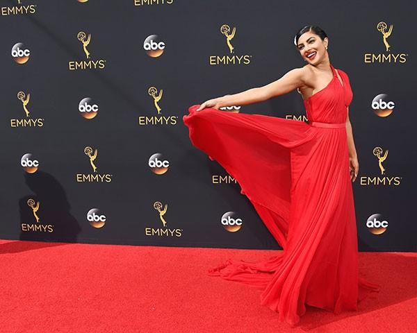 O estilo de Priyanka Chopra está em destaque na moda (Foto: Getty Images)