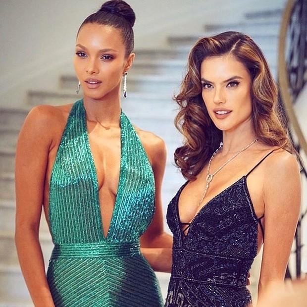 Lais Ribeiro e Alessandra Ambrosio (Foto: Reprodução/Instagram)