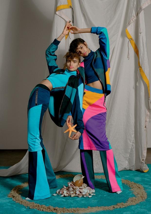 Jaquetas, calças e tops, tudo À La Garçonne (Foto: Zee Nunes)
